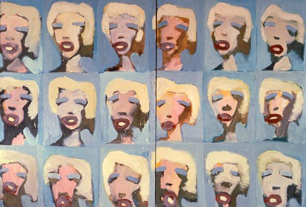 Авдей Тер-Оганьян, «Энди Уорхол. Мэрилин», 1989