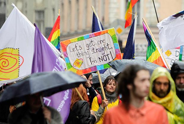 Гей-парад в Риге