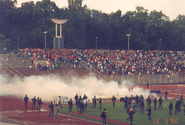 «Матч ненависти» — игра загребского «Динамо» и белградской «Црвены Звезды»
