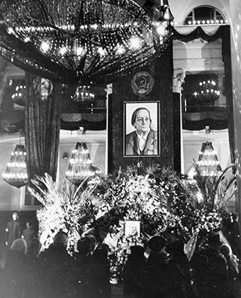 Похороны Розалии Землячки 24.01.1947