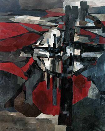 Пьер Дмитриенко, «Гефсиманский сад», 1956 год