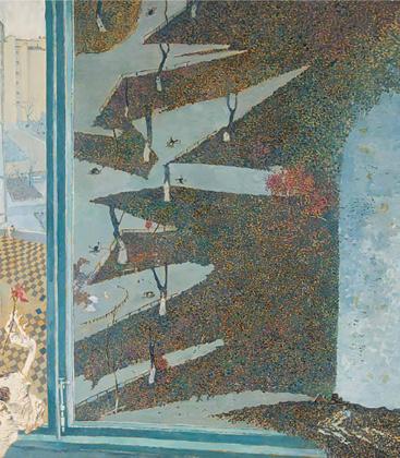 Борис Свешников, «Вид из окна», 1970 год