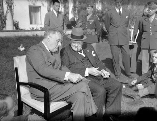 Беседа президента Франклина Рузвельта и Уинстона Черчилля, 31 января 1943 года