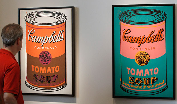 Энди Уорхол, суп Кэмпбелл, 1965 год