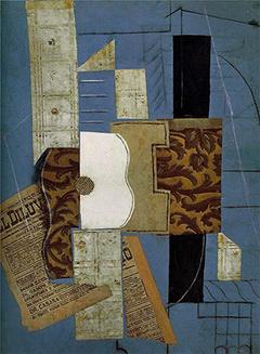 Пабло Пикассо, «Гитара», 1913