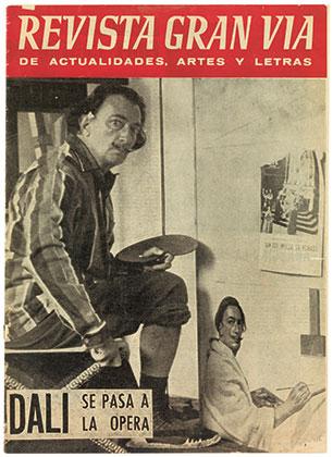 Обложка журнала Revista Gran Via de Actualidades, Artes y Letras, 20/08/1960