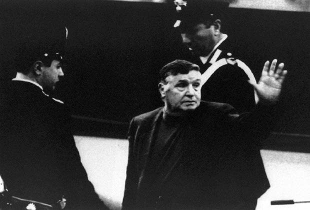 Главарь сицилийской мафии Сальваторе Тото Риино