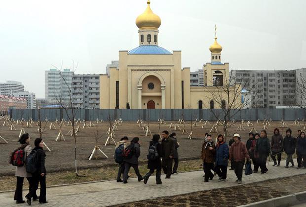 Православный храм в Пхеньяне