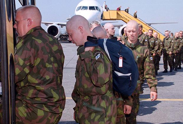 Финские военнослужащие отправляются в Косово