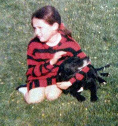 Хелен Уотерсон в детстве