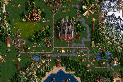 Скриншот Heroes of Might & Magic III HD