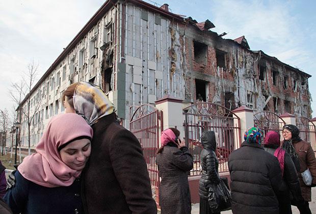 Теракт в Грозном, 5 декабря 2014 года