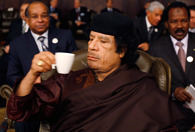 Муаммар Каддафи