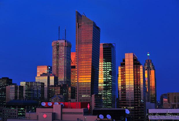 Торонто, финансовый центр