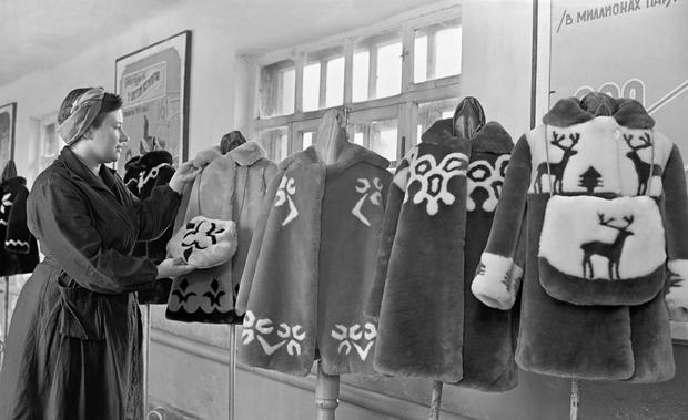 Ассортимент советского универмага