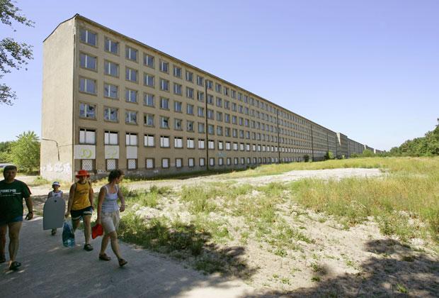 Курортный комплекс Koloss von Prora до реконструкции