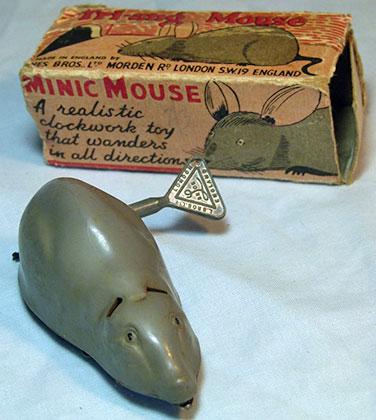 Заводная мышь