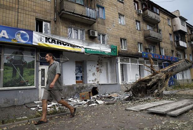 Донецк, 11 августа 2014 года.