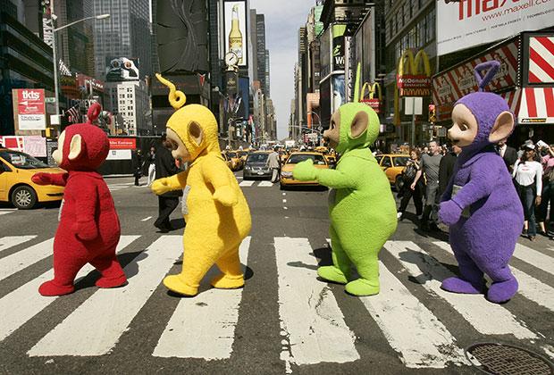 В 2007 году Тинки-Винки, Дипси, Ляля и По посетили Нью-Йорк в рамках гастрольного тура, посвященного 10-летию сериала