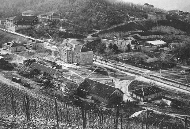 Усадьба имения Абрау-Дюрсо, 1913 год