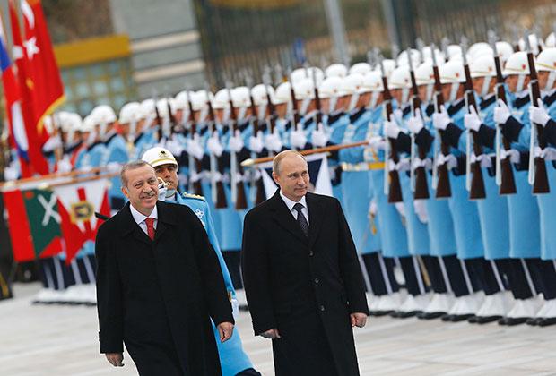 Путин с Эрдоганом сближают позиции