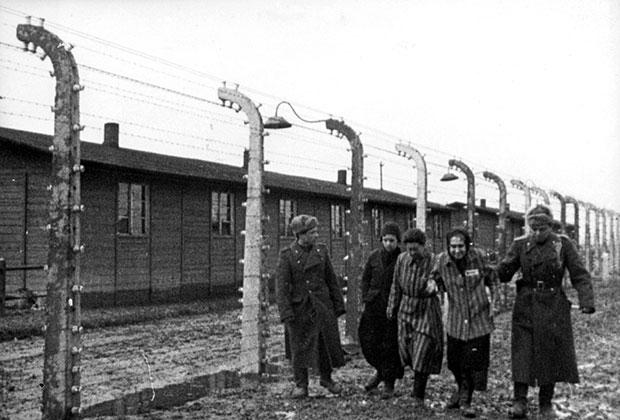 Аушвиц, 1945 год