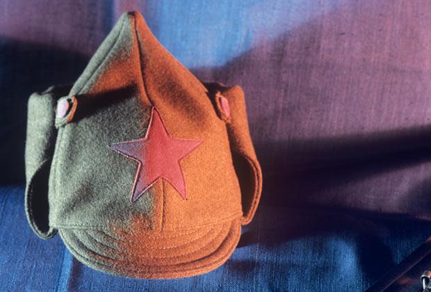 Красноармейский суконный шлем особого образца Михаила Васильевича Фрунзе