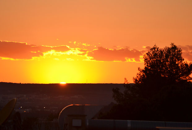 Закат в Экс-ан-Провансе