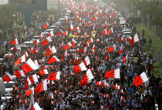 Протесты в Бахрейне, 2011 год