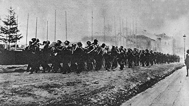 Вступление русских войск в Коломыю. Брусиловский прорыв, май-июль 1916 года.