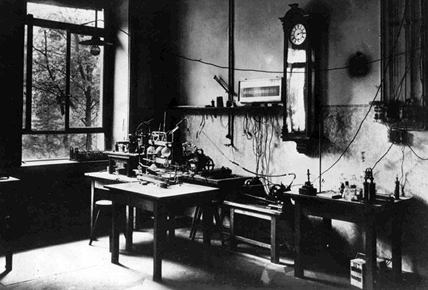 Лаборатория Конрада Рентгена, где были открыты рентгеновские лучи