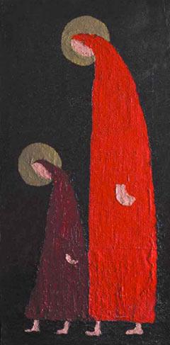 Кирилл Лильбок, «Двое», 1960-е. Колл. В. Егорова