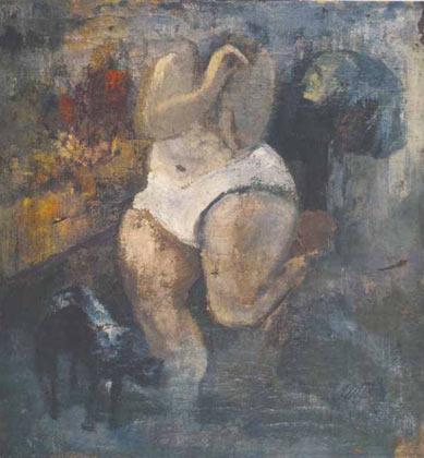Александр Арефьев, «Женский торс», 1949. Коллекция В. Громова