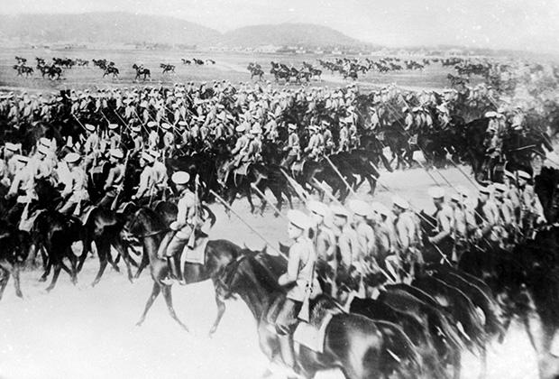 Русская кавалерия в Галиции (Первая мировая война)