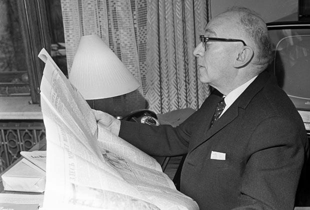 Профессор-экономист Евсей Либерман