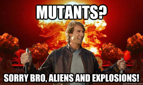 «Мутанты? Прости, брат, пришельцы и взрывы!»