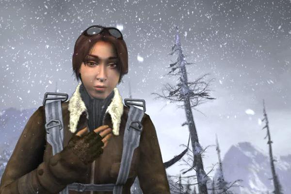 Кадр из игры Syberia