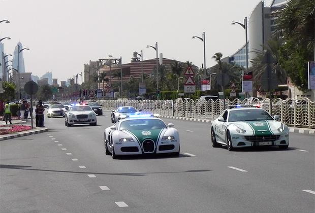 На улицах Дубая