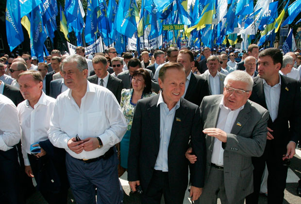 Акция «В Европу - без фашистов», Киев, май 2013 года.