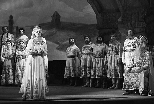 «Руслан и Людмила» на сцене Большого театра в 1947 году