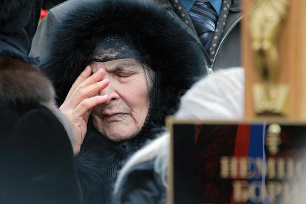 Мать Бориса Немцова Дина Эйдман