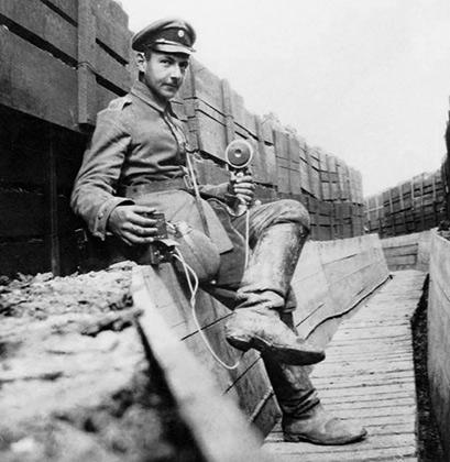 Альберт Геринг во время Первой мировой войны
