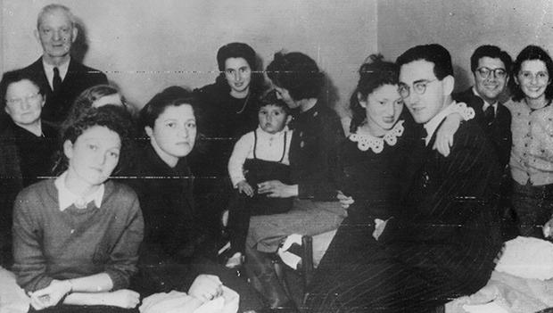 Датские евреи-беженцы в шведском городе Мальме, октябрь 1943 года