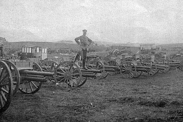 Трофеи, взятые германскими войсками после разгрома армии Самсонова в Мазурских болотах