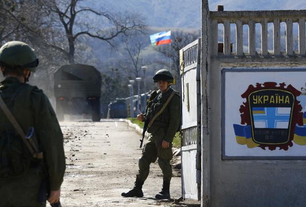 193 украинские военные части в Крыму разоружили без кровопролития