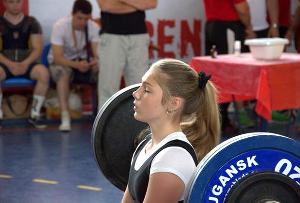 На соревнованиях в Луганске, 2012 год