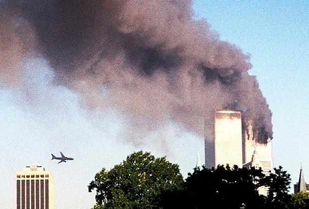 Террористическая атака Всемирного торгового центра. Нью Йорк, 11 сентября  2001 года