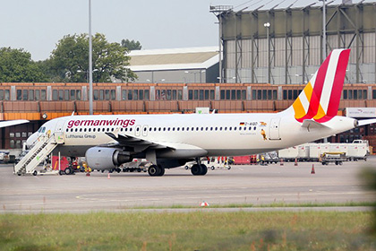 Самолет A-320 компании Germanwings