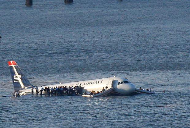 А-320, приводнившийся на реке Гудзон, 15января 2009года