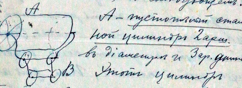 Чертеж катка Скрозникова